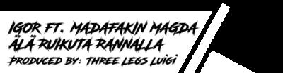 Music producer Three Legs Luigi
